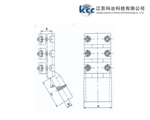 耐热导线/大截面导线螺栓型设备线夹